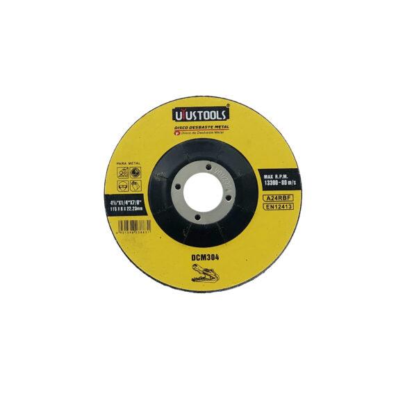 disco desbaste de metal 4 medio pulgadas